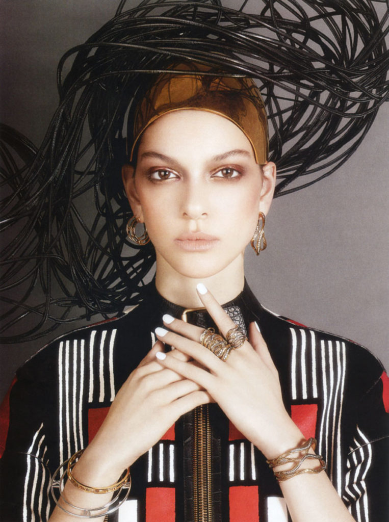 Vogue Gioiello Photo by Luciana Val Franco Musso manicure Carlotta Saettone