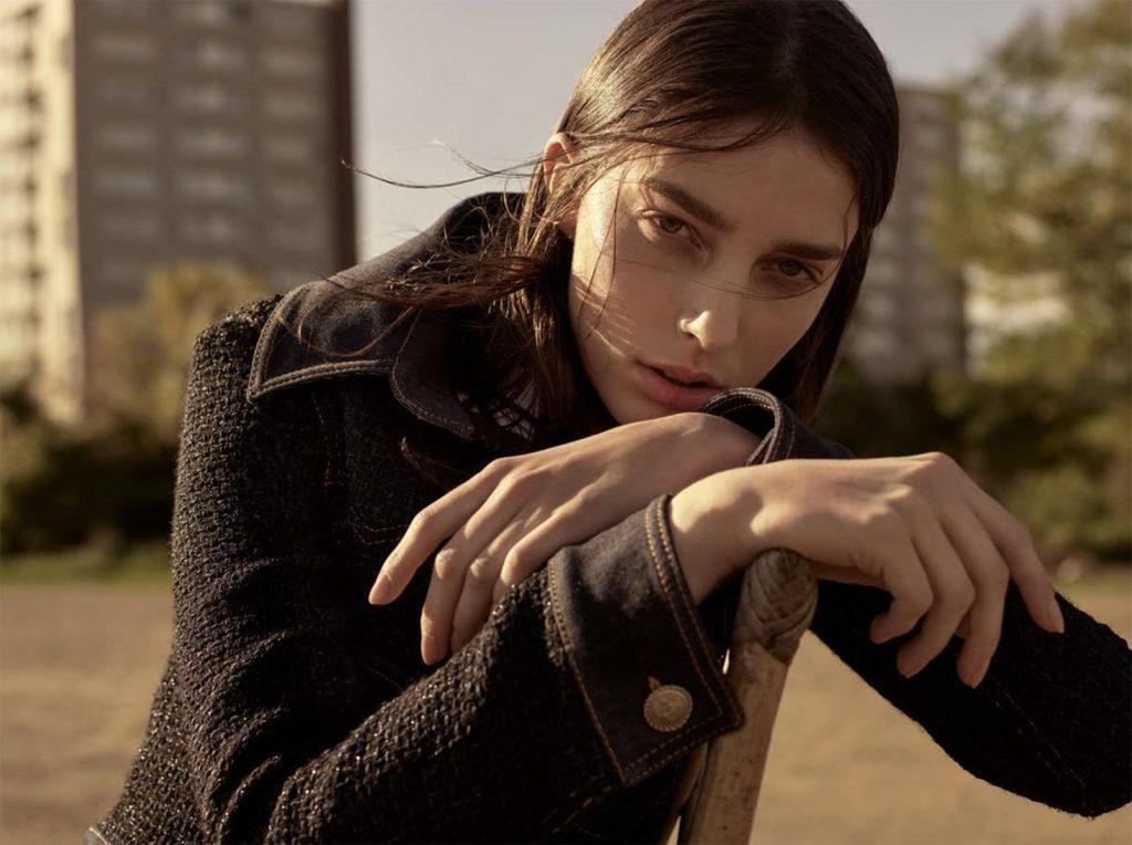 Amica magazine photographer Nicolas Valois make-up Hugo Villard