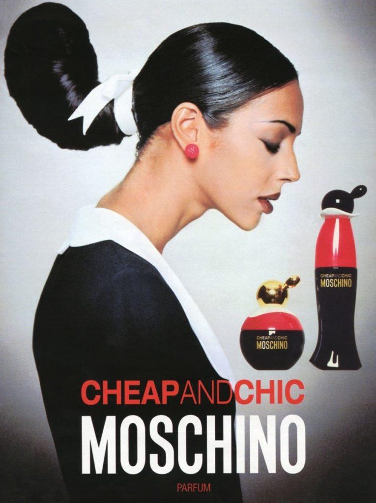 moschino cheap & chic parfums hair Stefano Gatti adv woman