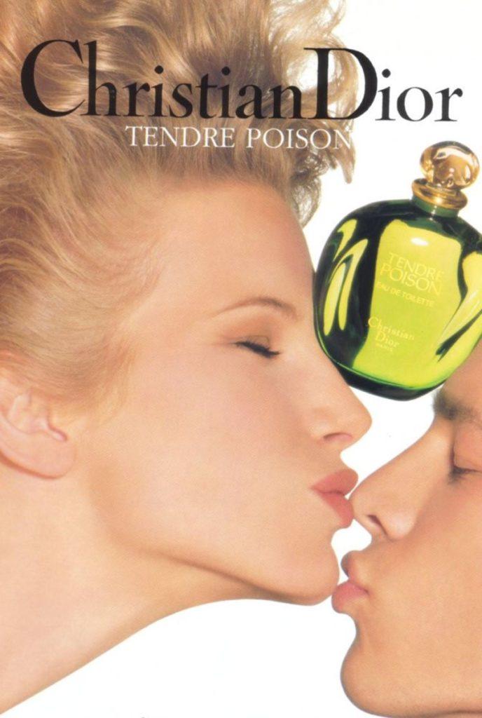 Christian Dior parfums hair Stefano Gatti adv woman