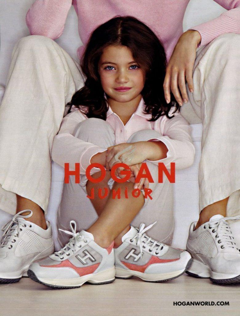 Hogan junior hair Stefano Gatti adv