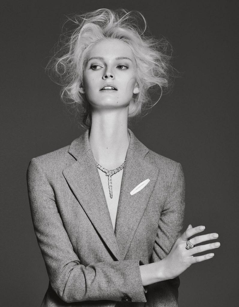 Ladies magazine hair Stefano Gatti make-up Karin Borromeo editorial woman