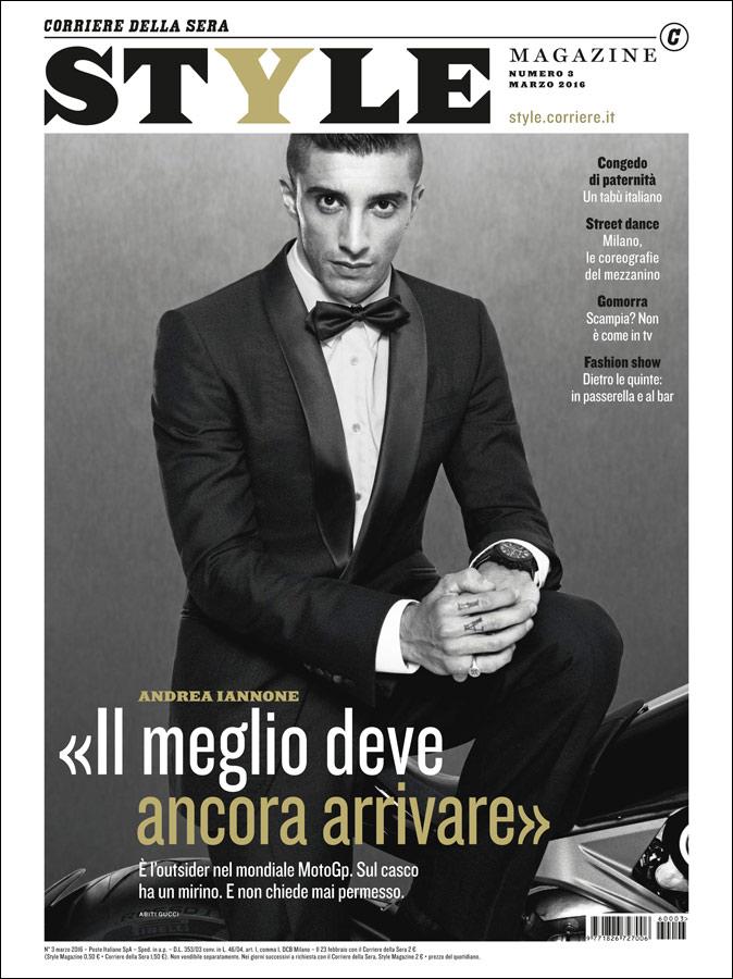 Style magazine hair Luca Lazzaro celebrities cover man