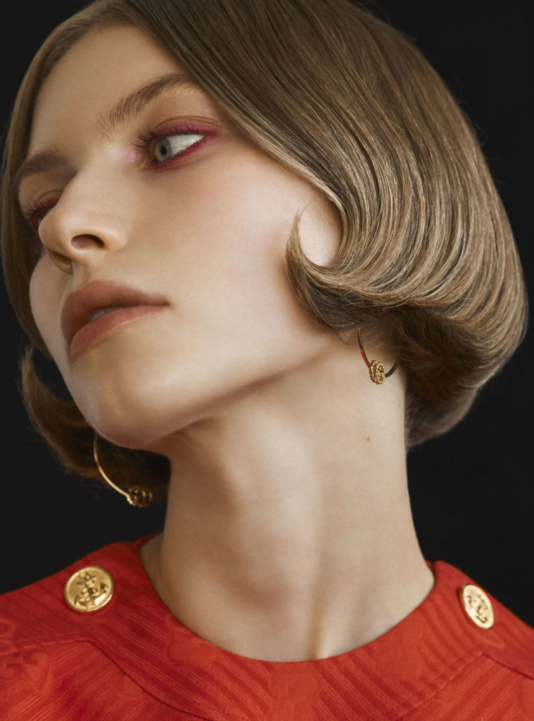 Russh Magazine hair Rory Rice woman editorial