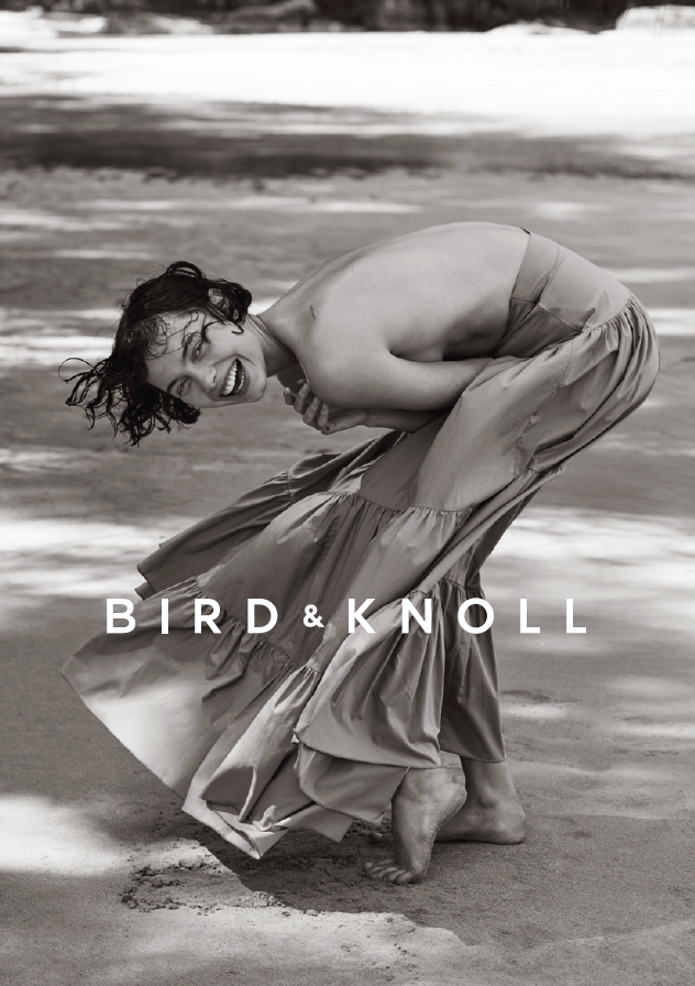 Bird&knoll hair Rory Rice adv woman