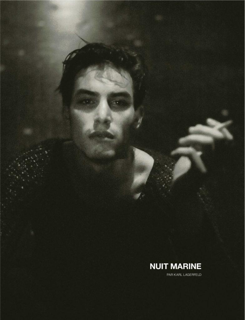 Numerò Homme photographer Karl Lagerfield make-up Hugo Villard