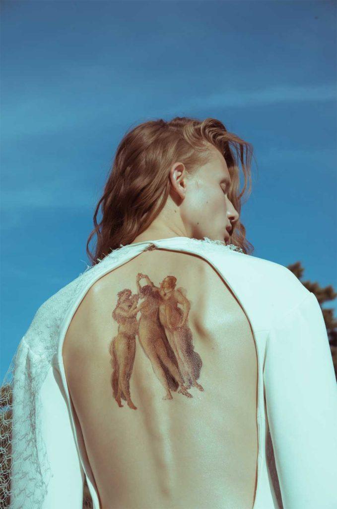 Nylon Magazine photographer Debora Brune make-up Hugo Villard
