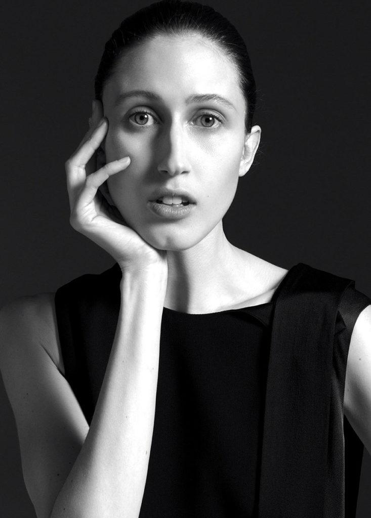 sportmax Anna Cleveland make-up Augusto Picerni