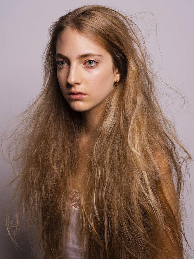 chiara hair Stefano Gatti editorial woman