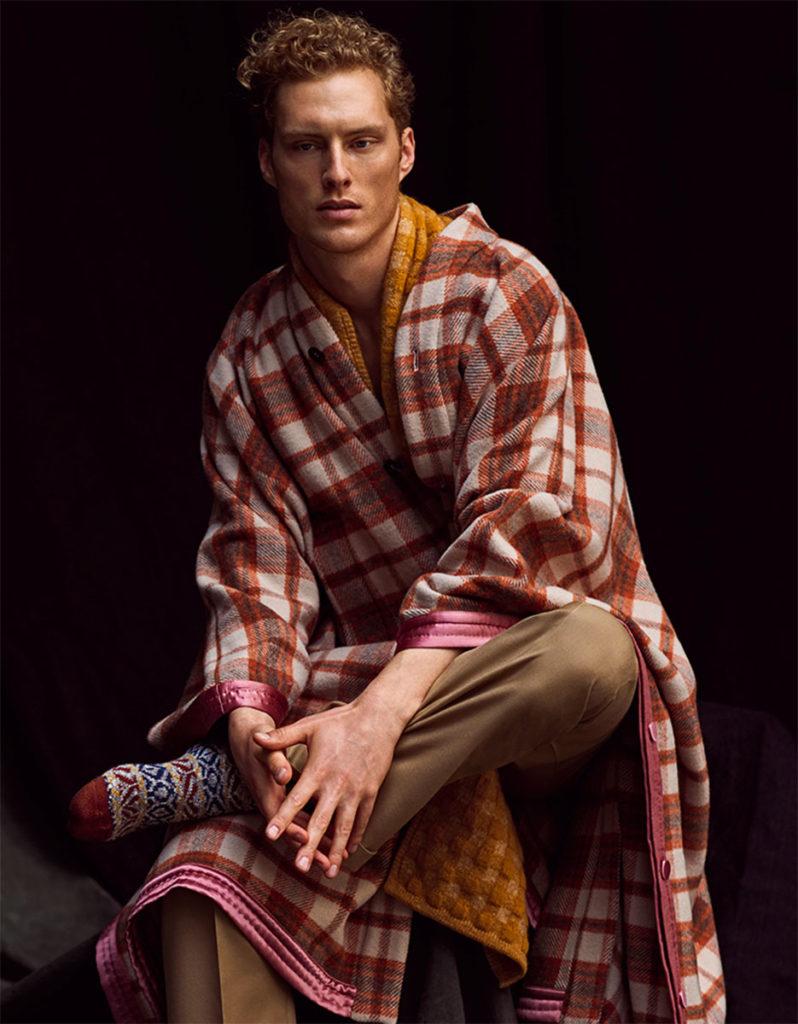 Style magazine italia hair Luca Lazzaro man editorial