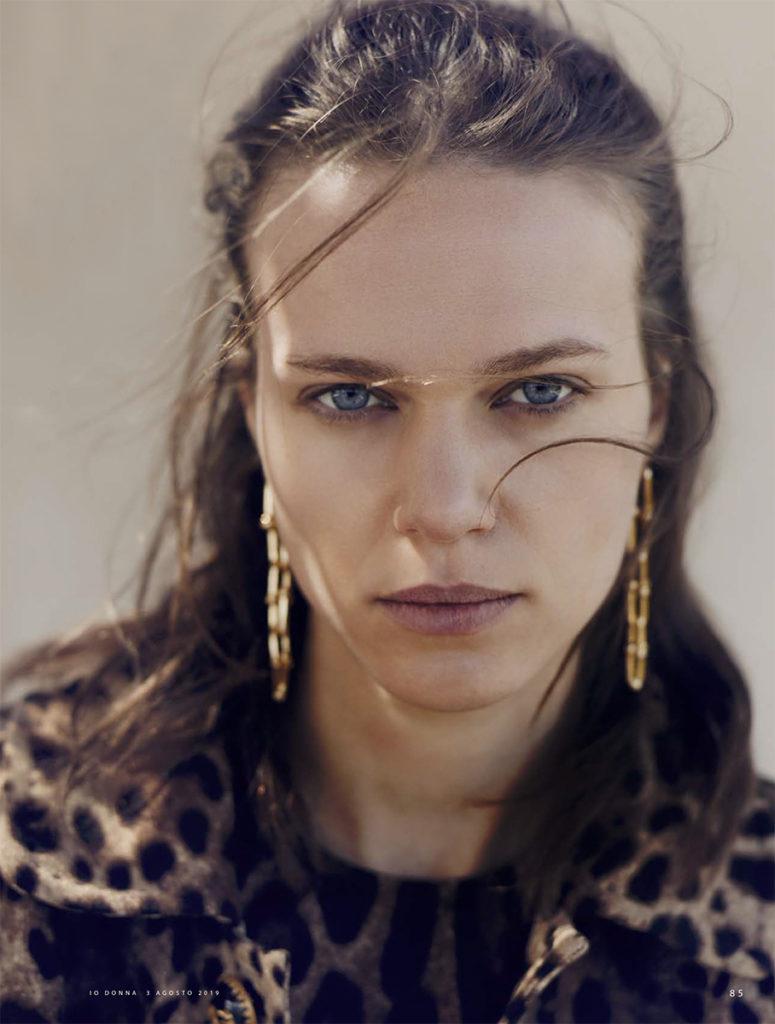 Io donna photographer Jork Weismann make-up Augusto Picerni