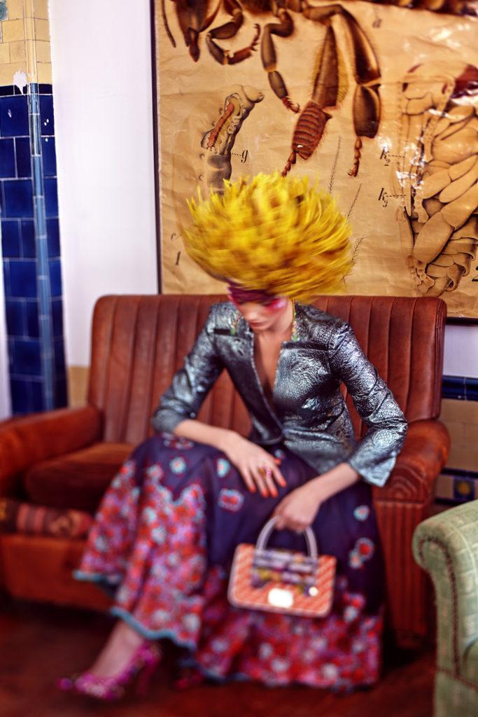Phoenix Magazine - Photo Uli Weber make up Nicky Tavilla