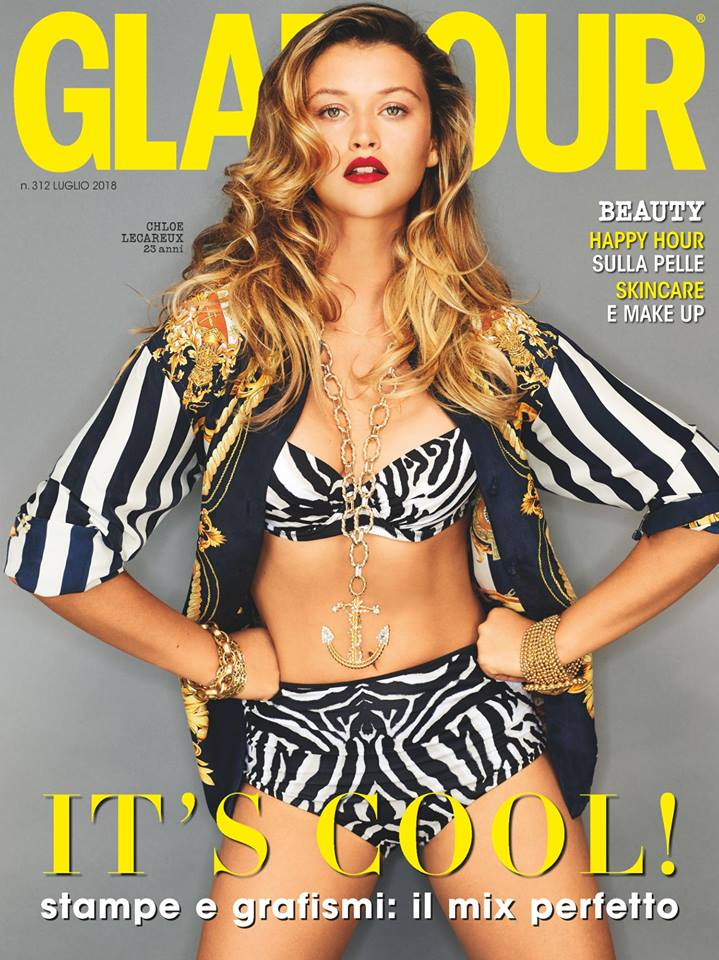 Glamour hair Luca Lazzaro woman cover