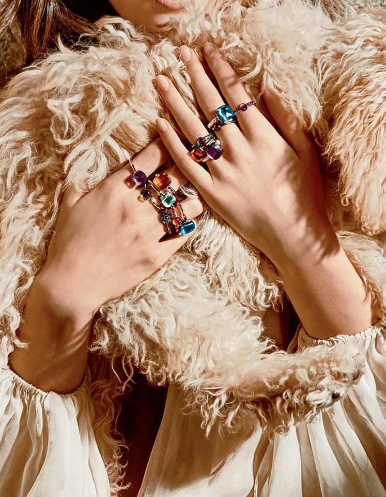 Pomellato special Photo by Lorenzo Bringheli manicure Carlotta Saettone