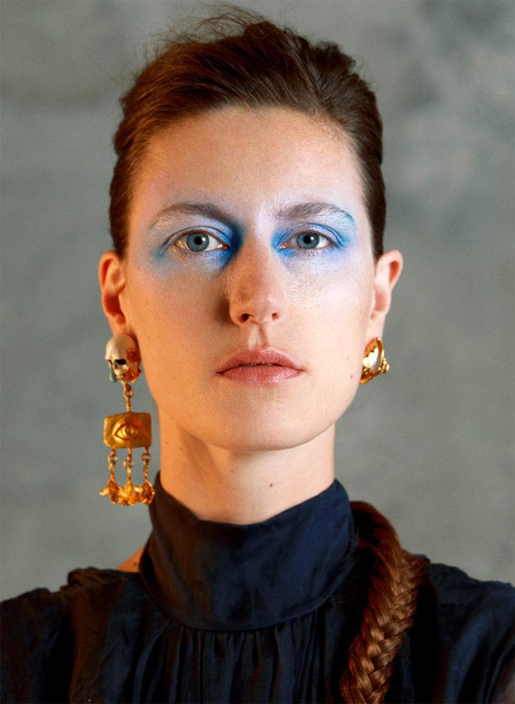Stylist Magazine france photographer Alexandra Von Fuerst make-up Hugo Villard