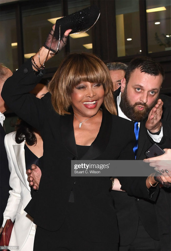 Tina Turner make up Nicky Tavilla