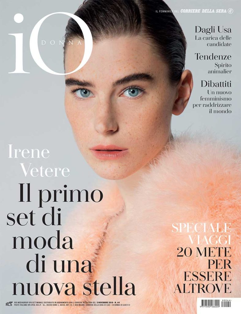 io donna hair Rory Rice cover editorial woman