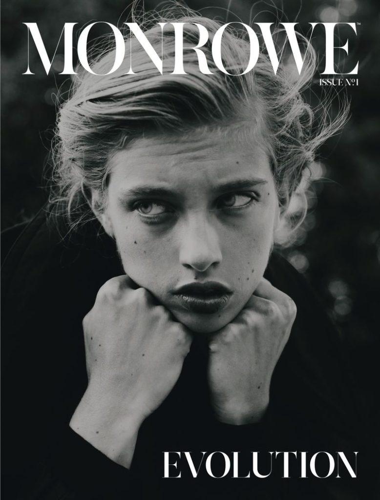 Monrowe magazine make-up Hugo Villard