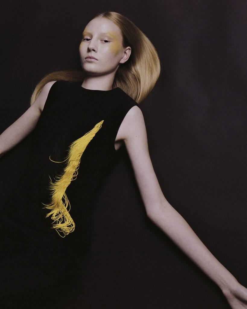 Vogue italia photographer Alex Black make-up Hugo Villard