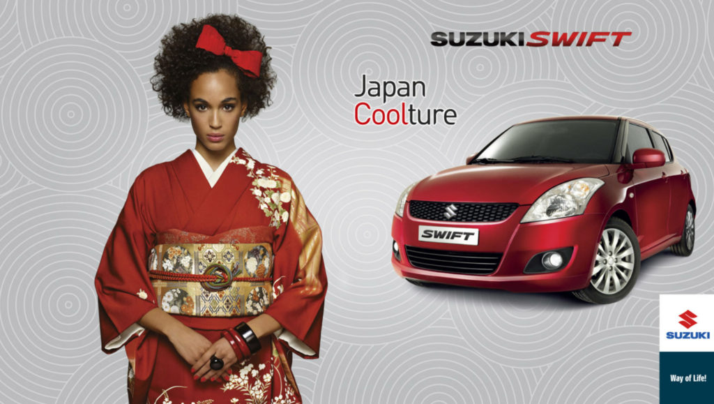 Suzuki swift make Nicky Tavilla
