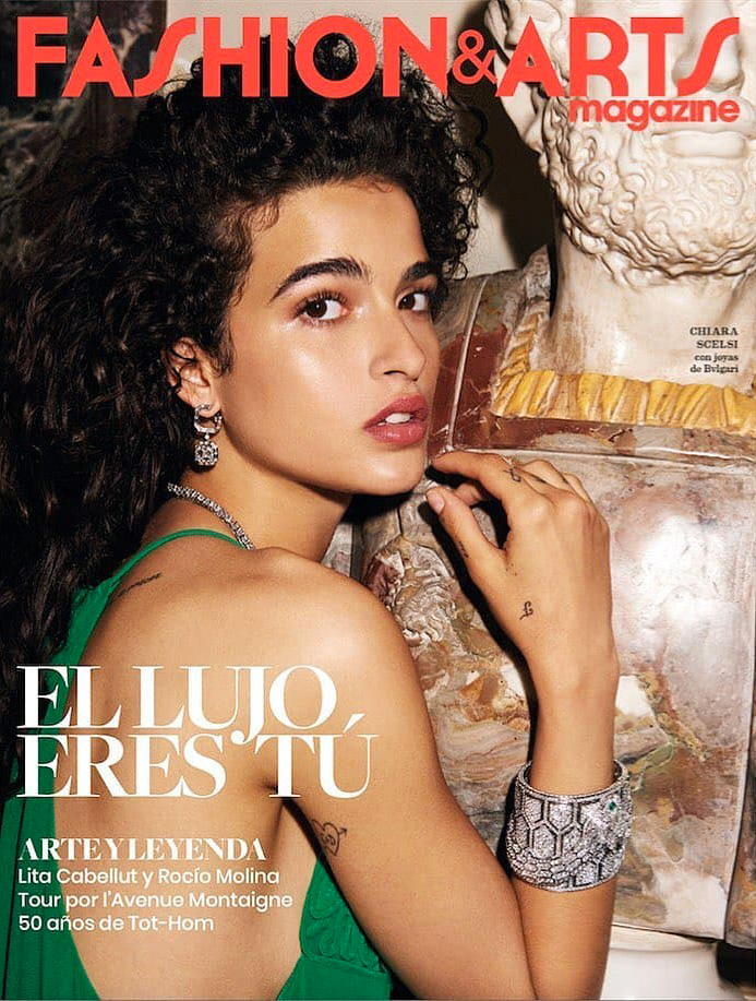 Fashion & arts Chiara Scelsi Photographer Tung Walsh Styling Enrique Campos