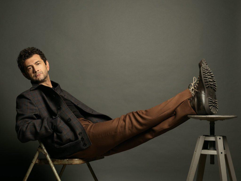 Vanity Fair Vinicio Marchioni hair Stefano Gatti man celebrities
