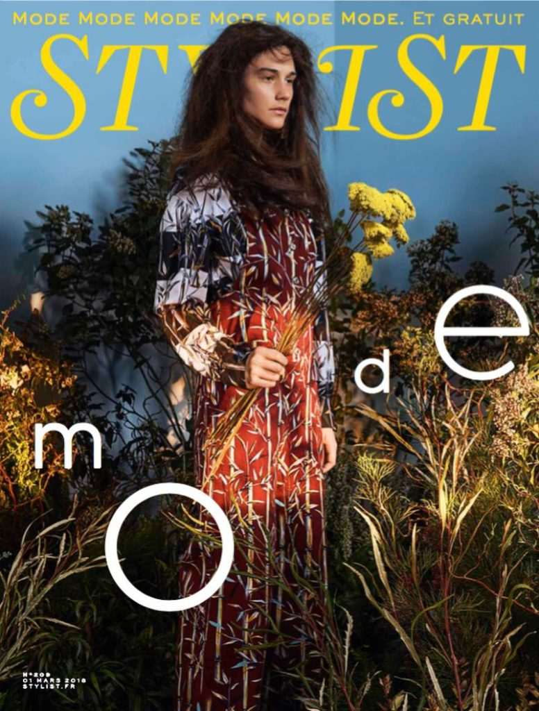 Stylist magazine france make-up Hugo Villard