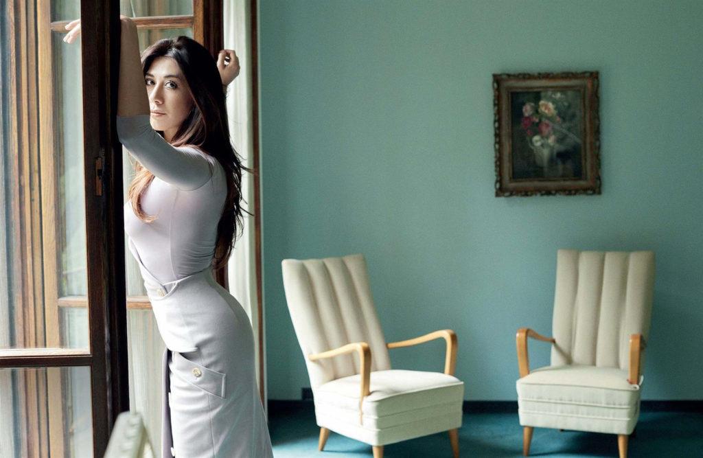 Virginia Raffaele hair Luca Lazzaro celebrities woman