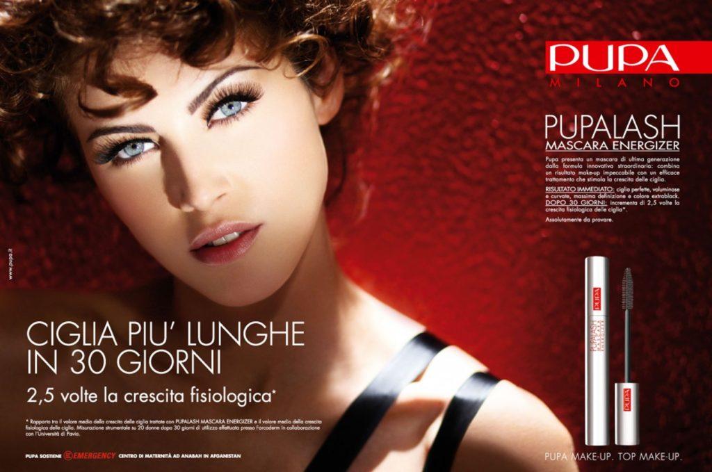 Pupa hair Luca Lazzaro adv woman