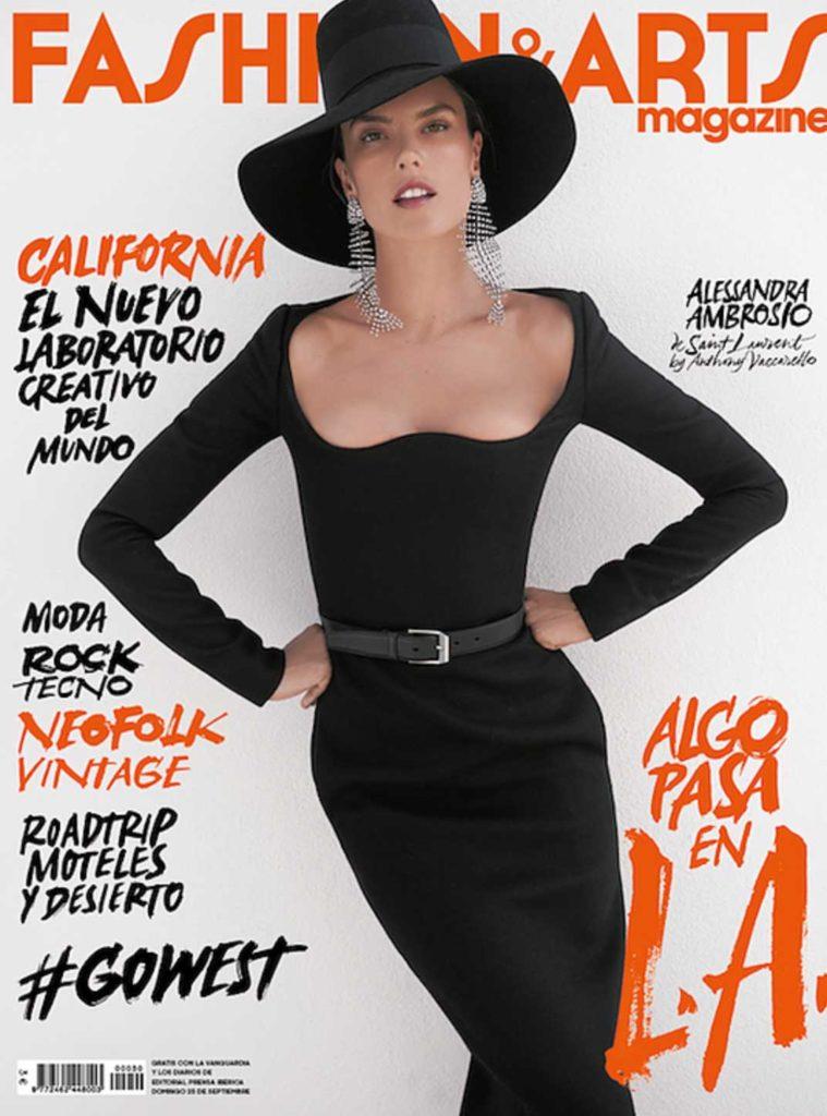 Fashion & arts Alessandra Ambrosio Photographer Jan Welters Enrique Campos