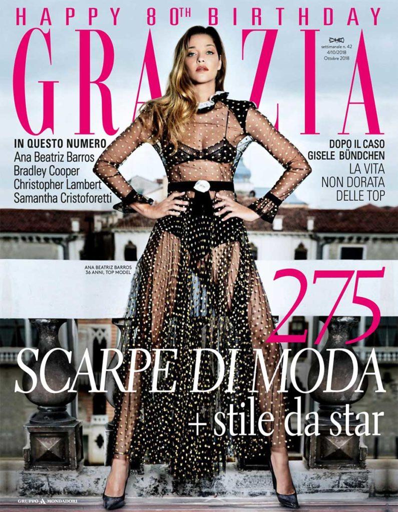 Grazia Italia Stylist Ildo Damiano Ana Beatriz cover