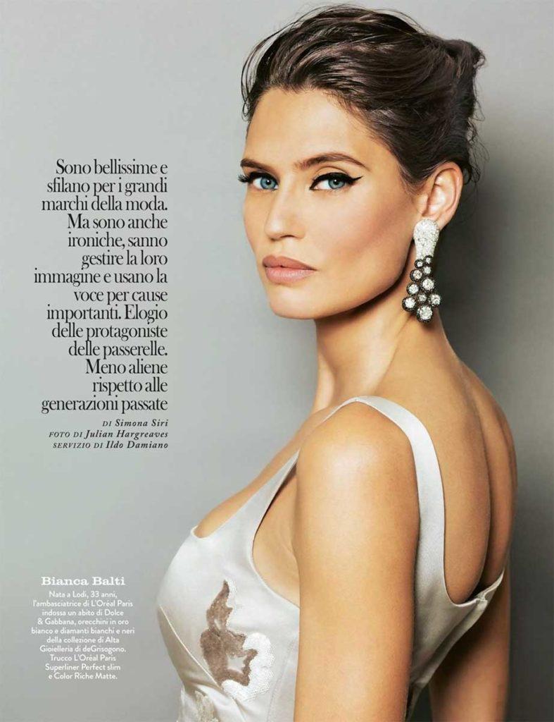 Bianca Balti stylist Ildo Damiano