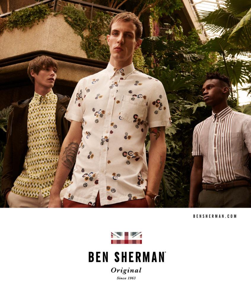 Ben Sherman hair Rory Rice adv man