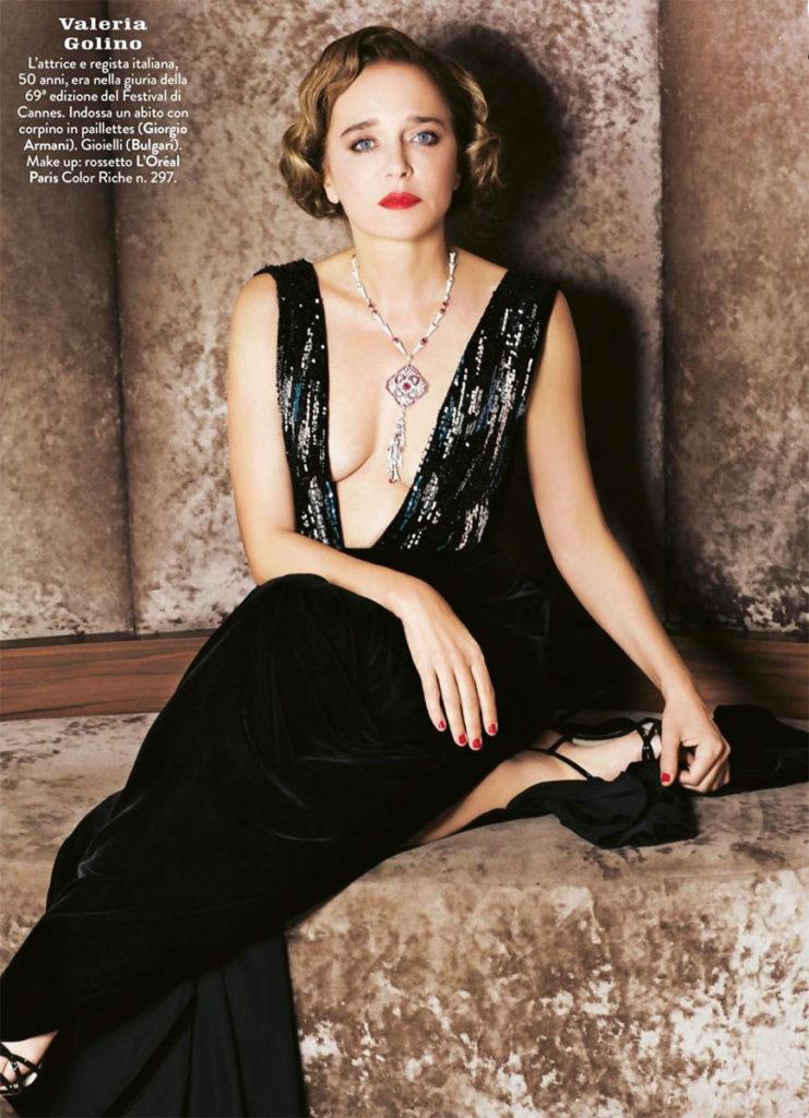 Valeria Golino stylist Ildo Damiano cannes 2016