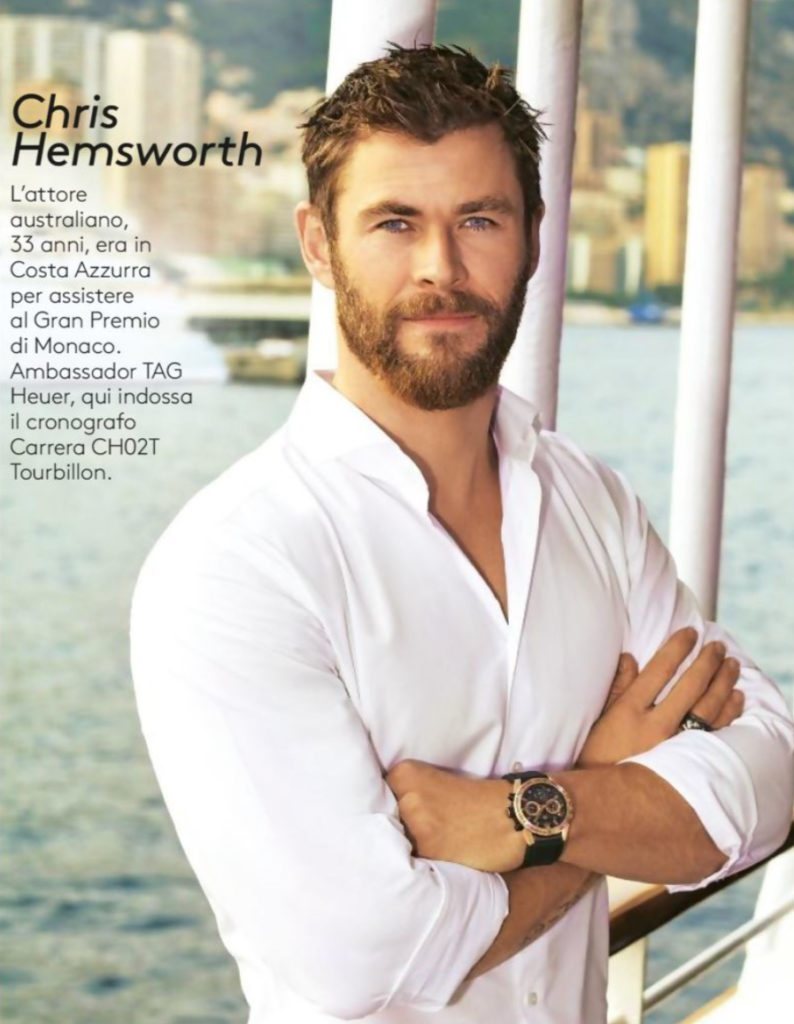 Chris Hemsworth stylist Ildo Damiano
