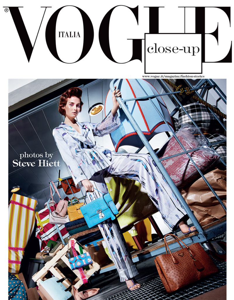 Vogue Italia Photographer Steve Hiett Stylist Giulio Martinelli