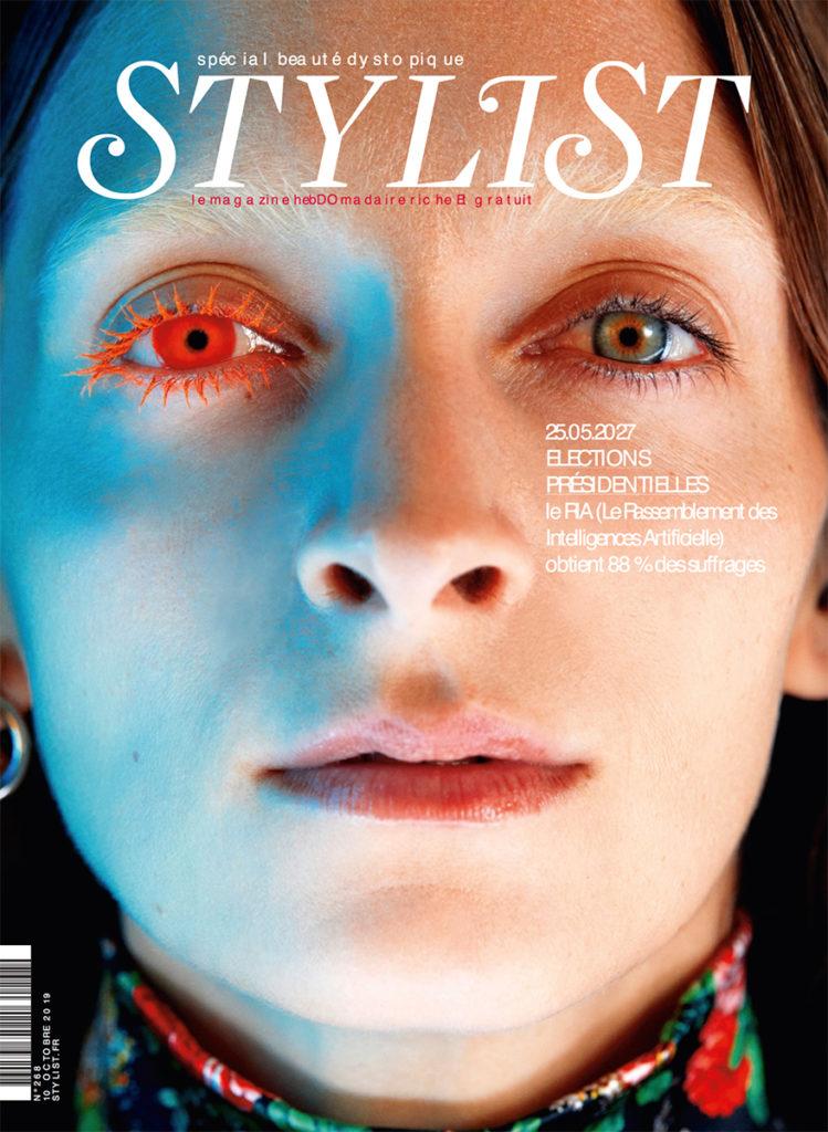 Stylist France make-up Hugo Villard