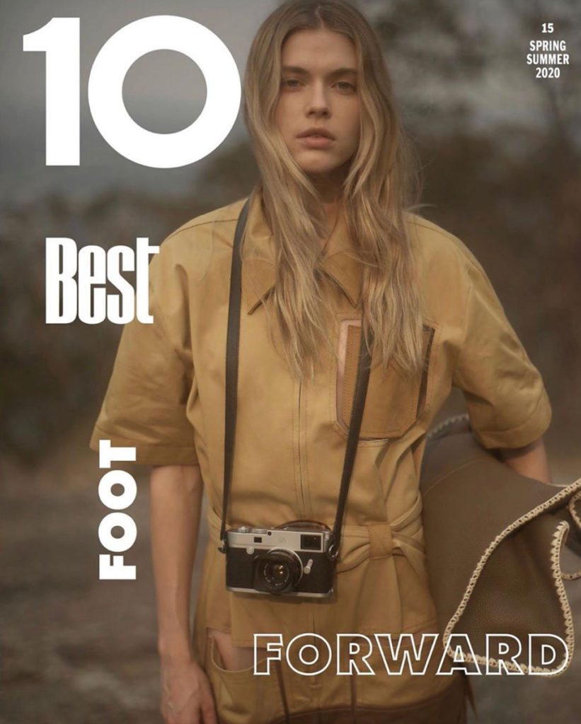 10 magazine hair Rory Rice cover woman editorial