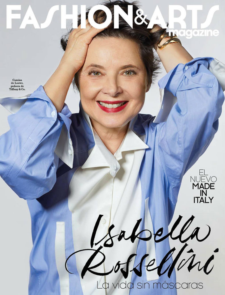 Fashion & Arts Styling Enrique Campos Isabella Rossellini
