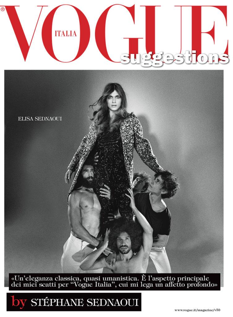 Vogue Italia Photographer Stephane Sedneoui Fashion Stylist Giulio Martinelli Elisa Sednaoui cover