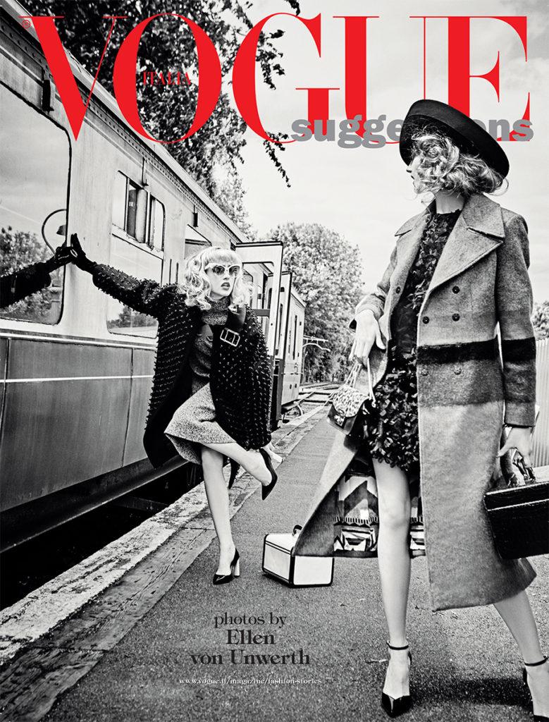 Vogue Italia Photographer Ellen Von Unwerth Styling Giulio Martinelli