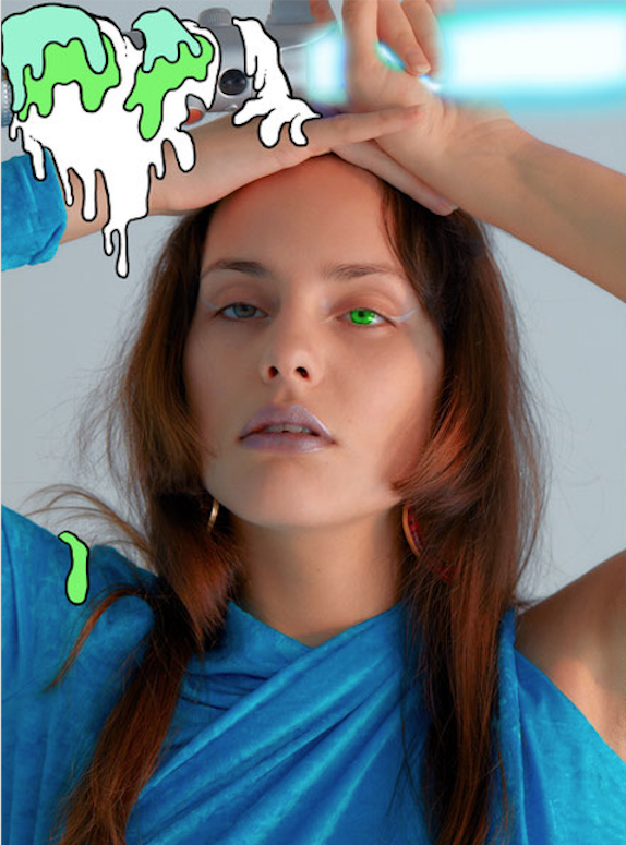 Hot hot hot magazine photographer Boris Ovini make-up Hugo Villard