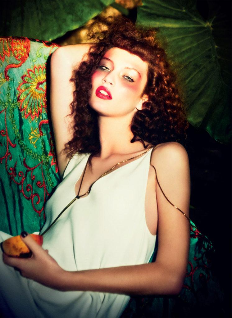 Vogue Italia Photo by Ellen Von Unwerth stylist Giulio Martinelli
