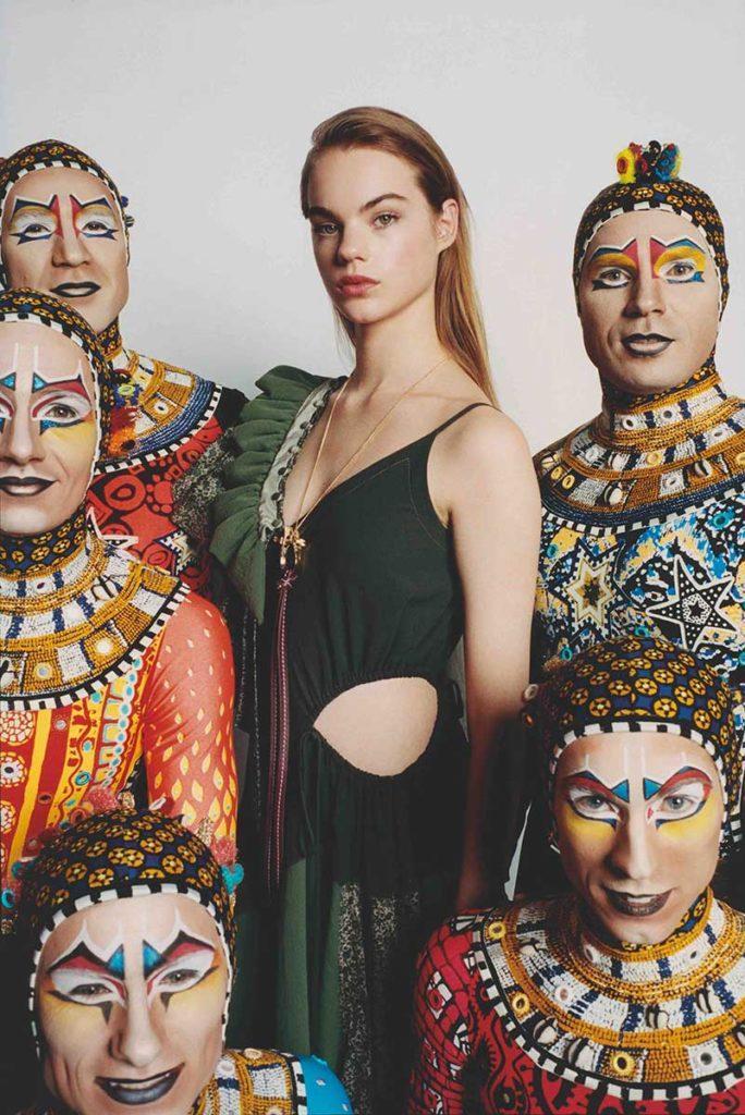 Fashion & arts Photographer Tung Walsh Styling Enrique Campos Estella Boersma