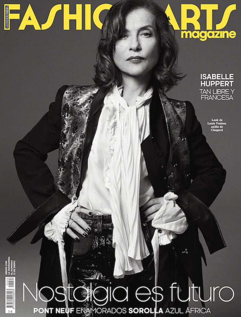 Fashion & arts Isabelle Huppert Styling Enrique Campos