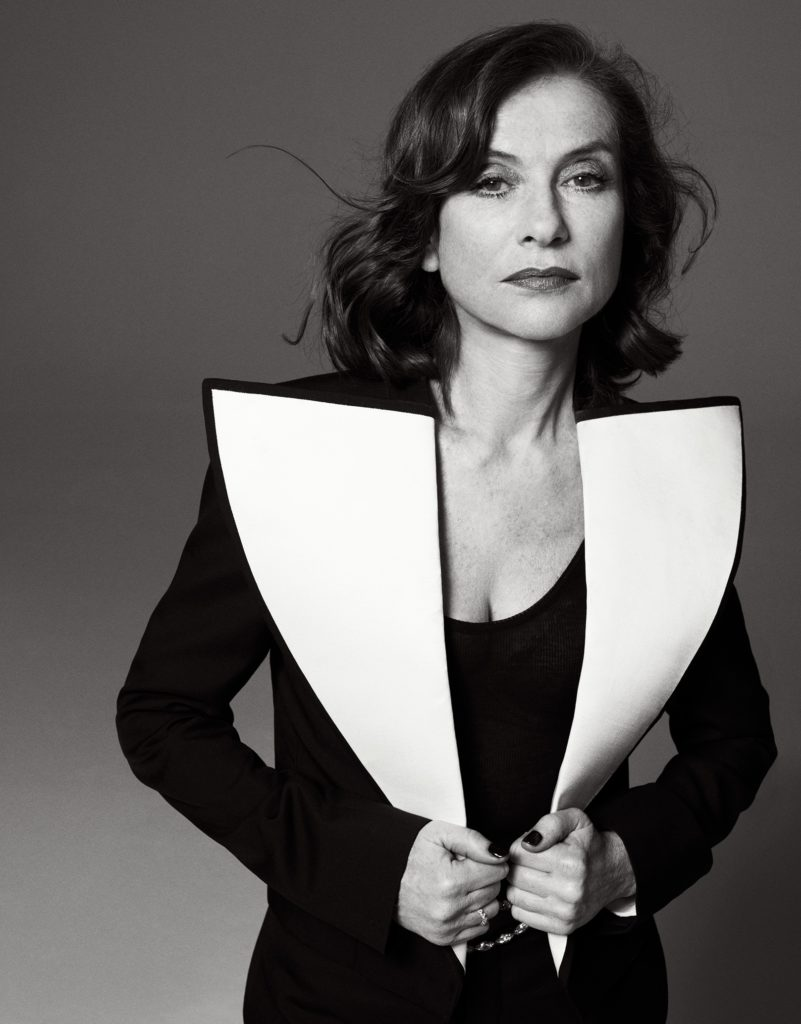 Isabelle Huppert Photographer Philip Gay Styling Enrique Campos