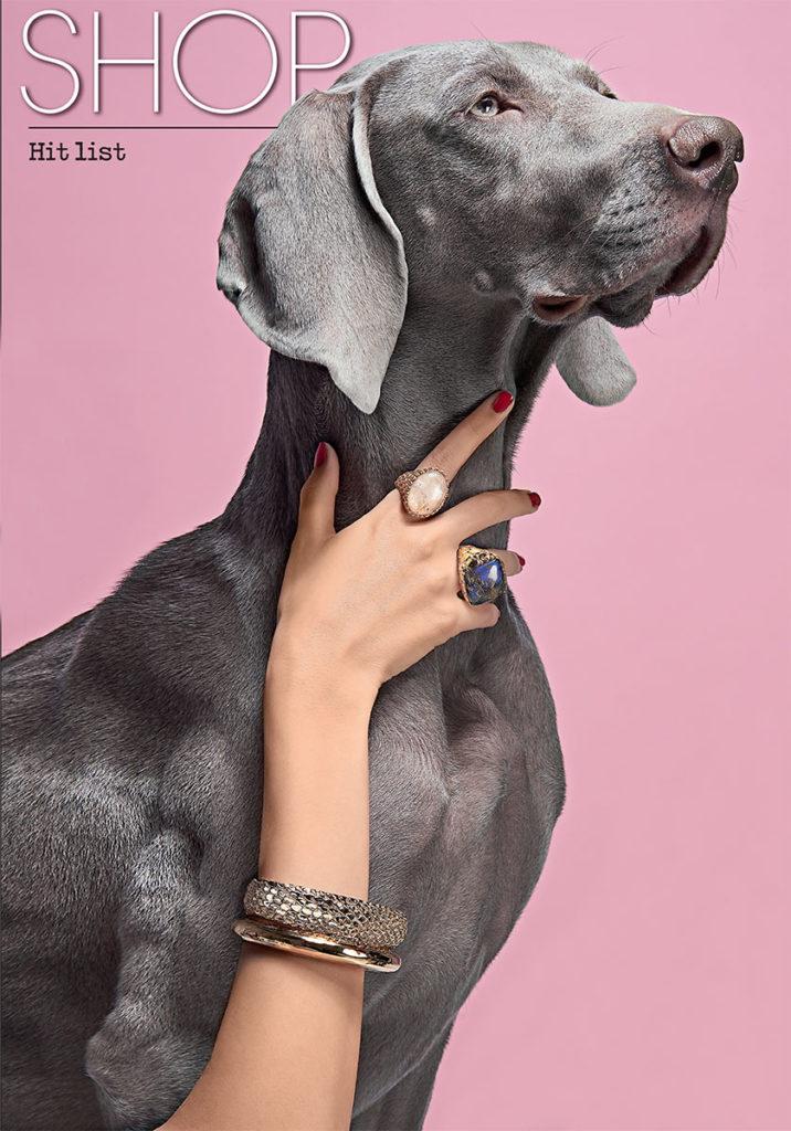 Glamour Photo by Simone Galbusera manicure Carlotta Saettone