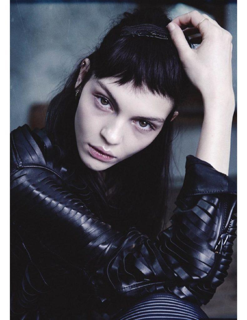 Lurve magazine photographer Benjamin Vnuk make-up Hugo Villard