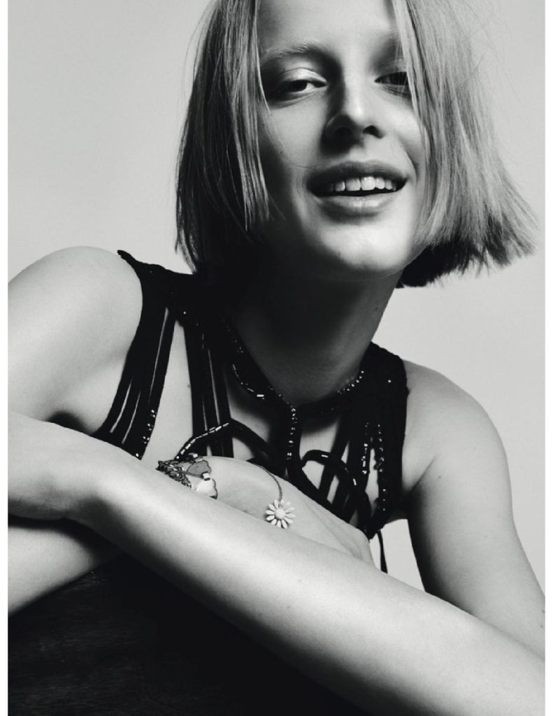 Vogue germany photographer Stefan Heinrichs Make-up Hugo Villard