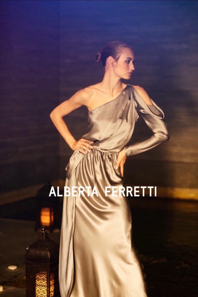 Alberta Ferretti hair Rory Rice adv man woman